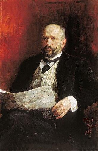 Pyotr Stolypin - Stolypin by Ilya Repin