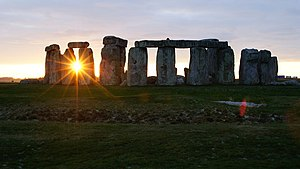 English art - Image: Stonehenge Sunset (1) geograph.org.uk 1626228