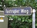 Straßenschild Tastruper Weg, Tastrup 2014.jpg