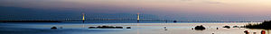 Straits of Mackinac - Image: Straits of Mackinac Panorama