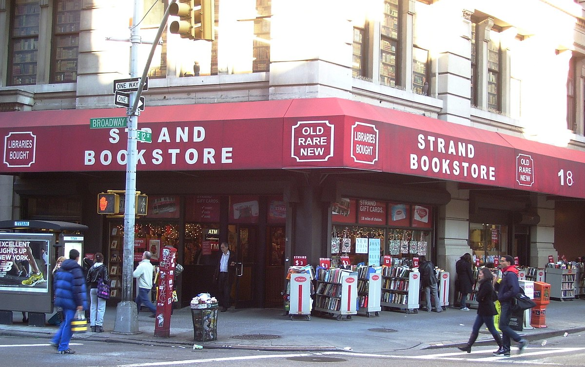 Image result for the strand bookstore