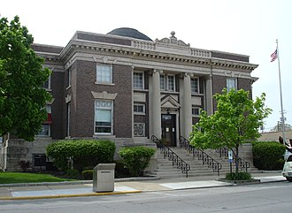 Worthy S. Streator - The Streator Public Library, a Carnegie library listed on the National Register of Historic Places.
