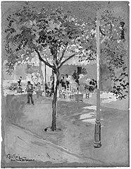 Street Cafe—San Felio de Quixols