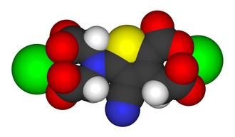 Strontium ranelate - Image: Strontium ranelate 3D