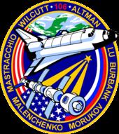 Missionsemblem STS-106