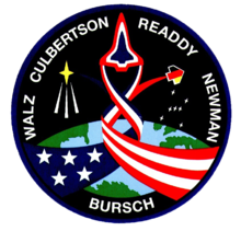 Wikipedia: James Hansen Newman at Wikipedia: 220px-Sts-51-patch