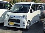 Subaru LUCRA CUSTOM R Limited (DBA-L455F) front.jpg