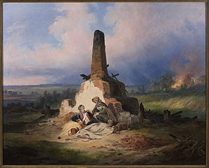 Ranny ułan z 1831 roku