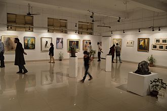 East Zone Cultural Centre - An exhibition of painting and sculpture is going on at the Academy of Fine Arts, in the city of joy Kolkata.