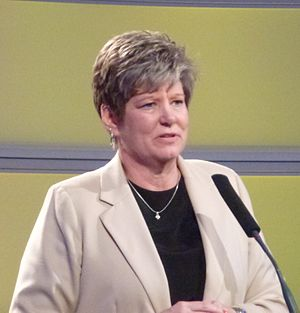 Carol Eckman Award - Sue Ramsey, 2012 Award winner