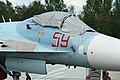 Sukhoi Su-27SM-3 Flanker 59 red (8507425735).jpg