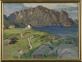 Summer, Store Molla. Study from Lofoten (Anna Boberg) - Nationalmuseum - 20523.tif
