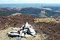 Summit cairn of Craiglwyn - geograph.org.uk - 204151.jpg