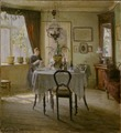 Sunlight in the Dining-room (Viggo Johansen) - Nationalmuseum - 19750.tif