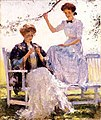 Sunshine and Shadow Frank Weston Benson.jpg