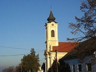 Surduk Village in Vojvodina, Serbia