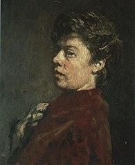 Self-portrait of Suze Robertson (1855-1922)