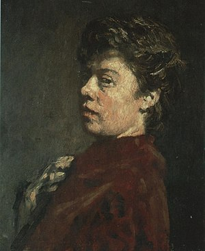 Suze Robertson - Self-portrait, 1890
