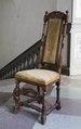 Svarvad stol, 1600-tal - Skoklosters slott - 103842.tif