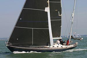 Swan 55 - Image: Swan 55 Galiana GBR5502T 2011 Euros