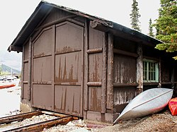 Swanson boathouse mapio net
