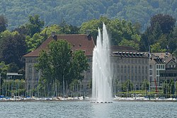 Swiss Re corporate headquarters at Mythenquai in Zurich (2009).jpg