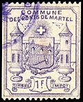 Switzerland Les Ponts-de-Martel 1892 revenue 1 1Fr - 4.jpg