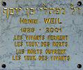 Synagogue de Besançon - plaque Weil.jpg