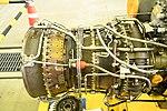 T700-IHI-401C2 turboshaft engine combustor & turbine section, exhaust right side view at Maizuru Air station May 18, 2019.jpg
