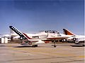 TA-4J of VT-7 in Bicentennial colours at Offutt AFB 1976.jpeg