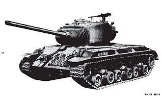 M26 Pershing - T25E1 variant