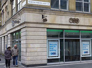 TSB Bank (United Kingdom) - TSB Newcastle city centre, a former Lloyds TSB branch