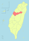 Taiwan ROC political division map Taichung City (2010).svg