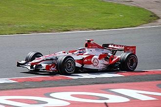 Super Aguri F1 - Sato at the 2007 British Grand Prix.