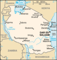 Tanzania-CIA WFB Map (2004).png