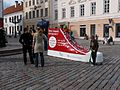 Tartu linna tervisepäeva tähis Raekoja platsil, 22. september 2012.jpg