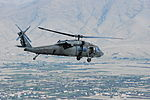 Task Force Falcon UH-60 Black Hawk helicopters transport personnel in eastern Afghanistan 130904-A-SM524-093.jpg