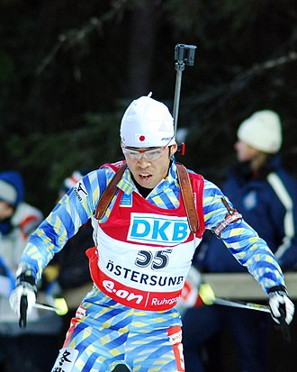 Deutsche Kreditbank - Sponsored Biathlete Tatsumi Kasahara