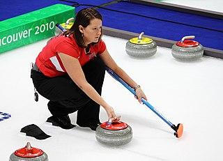 Debbie McCormick Canadian-American curler