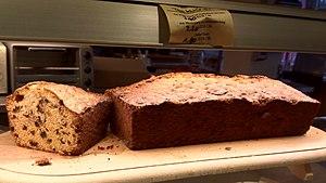 Cake - Raisin cake