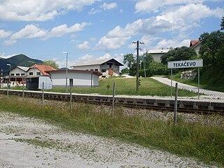 Tekačevo Place in Styria, Slovenia