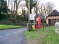 Telephone box, Tollard Royal - geograph.org.uk - 1635071.jpg