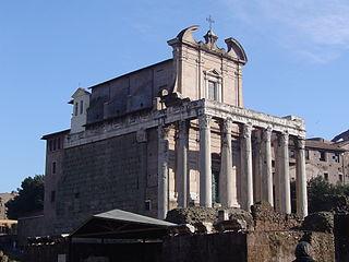 Tempel of Antoninus - Faustina FR-Rome.JPG