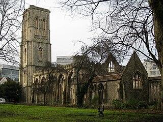 Temple Church, Bristol church