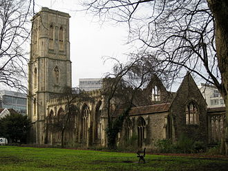 Temple Church, Bristol - Temple Church, Bristol
