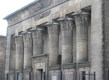 Phenomenal Egyptian Revival Architecture In The British Isles Wikiwand Short Links Chair Design For Home Short Linksinfo