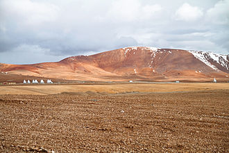Atacama Large Millimeter Array - On 4 March 2011, ten Antennas are installed at Chajnantor.