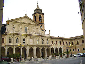 Terni Cathedral - West front of Terni Cathedral