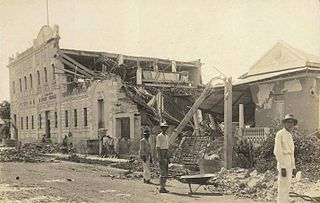 1918 San Fermín earthquake