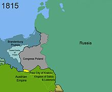 Territorial changes of Poland 1815
